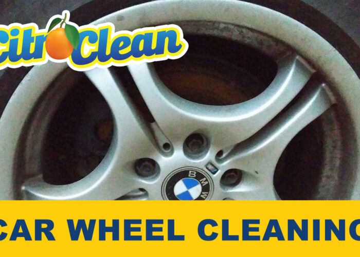 How to clean car wheels without scrubbing